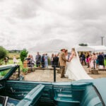 Ian's Chevy wedding car hire Devon and Cornwall